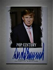DONALD J. TRUMP 2012 LEAF POP CENTURY SIGNATURES AUTHENTIC AUTO THE NEXT POTUS