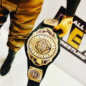 Nuevo-Cinturon-Intercontinental-WWE-Cuero-Real-para-Hasbro-Mattel-Jakks-figuras-WWF
