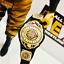 Nuevo-Cinturon-Intercontinental-WWE-Cuero-Real-para-Hasbro-Mattel-Jakks-figuras-WWF miniatura 1