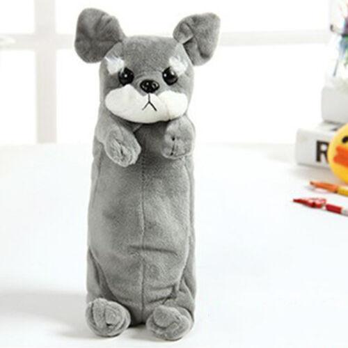 Plüsch Karikatur Tier Kinderspielzeug Federmäppchen Nett Hund Modisch Süß