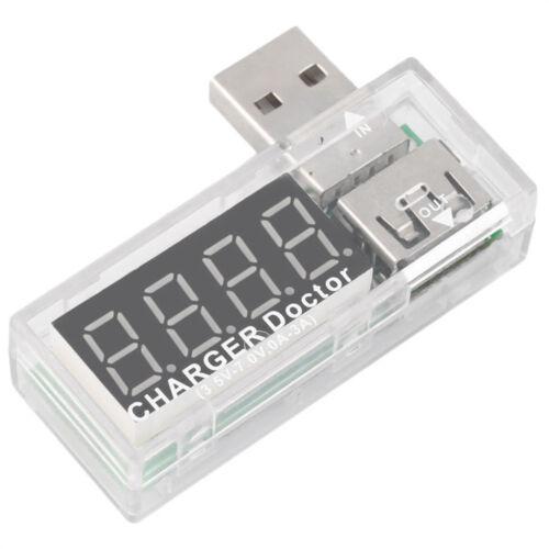 USB Charger Doctor voltmeter ammeter Amp Voltage Tester Detektor Hot Sell ASS
