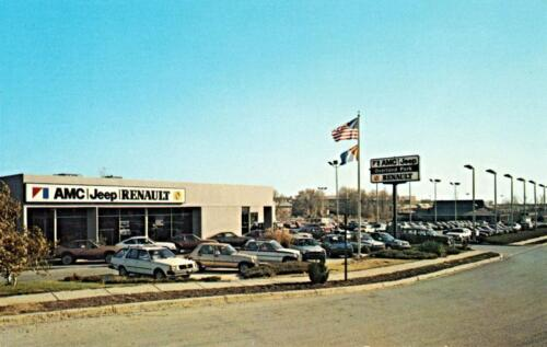 1980-1 Photo Overland Park Overland Park AMC//Jeep//Renault Dealership Kansas