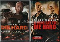 Die Hard 1 2 3 4 5 Dvd Lot Complete Collection 1-5 Good Day To 5 Disc Set