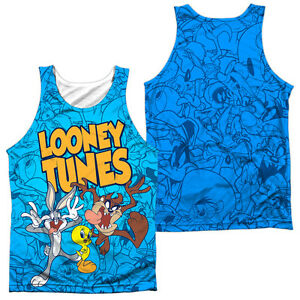 3a3a08d4 Image is loading LOONEY-TUNES-COLLAGE-OF-CHARACTERS-Licensed-Men-039-