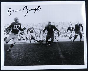 Sammy Baugh Washington Redskins Football Autographed Signed 8x10 B&W Photo