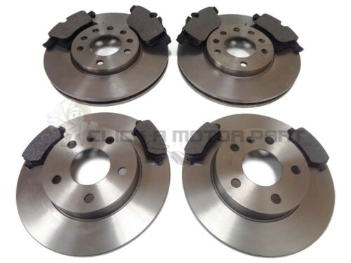 VAUXHALL ASTRA MK5 H TWINTOP FRONT /& REAR BRAKE DISCS AND PADS SET 5 STUD