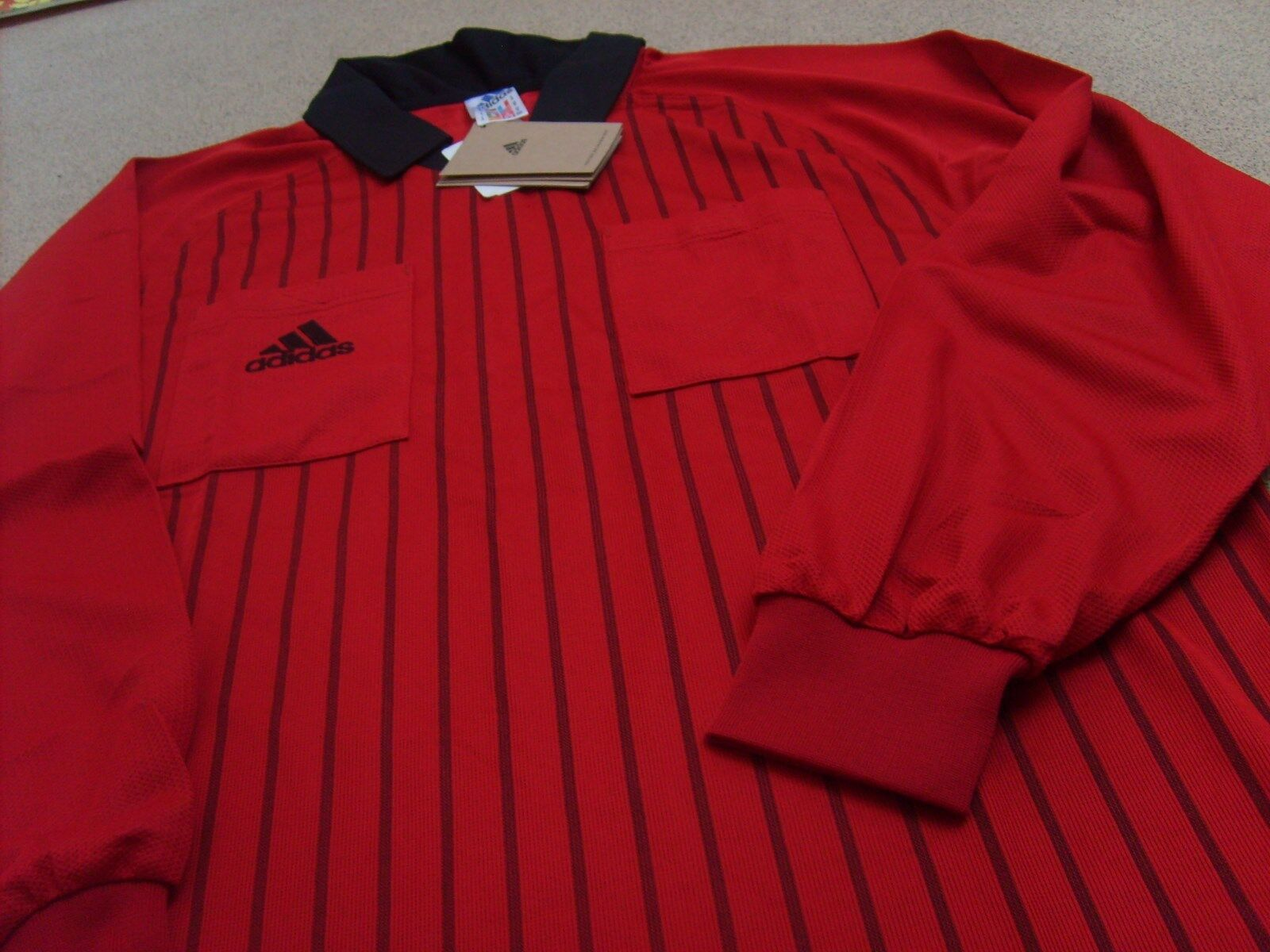 Eredeti Adidas Férfi Világkupa Franciaország 1998 Labdarúgó Játékvezető Póló, Méret: M, L