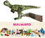 Figurine-Dinosaure-Allosaure-Statue-Animal-Peint-Main-Jeux-Jouet-Bullyland-61348 miniature 11