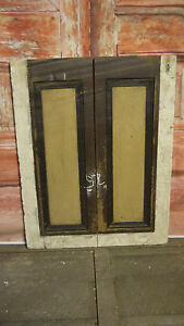 C92-24-x-31-Pair-of-Old-Victorian-Antique-Pine-Cupboard-Doors-nr-York