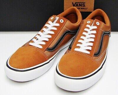 VANS Old Skool Pro Glazed Ginger Black White VN 000ZD4QO7 Men's size: 10 | eBay