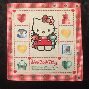 Vintage Hello Kitty Sanrio Handkerchief