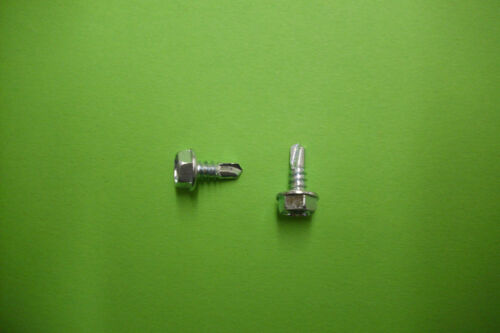 Bohrschrauben Sechskant verz 4,8 x 13 mm NEU 100 St