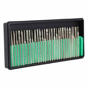 30PCS-3mm-Abrasive-Needles-Fits-Polishing-Grinding-Jewelry-Rotary-Tool-Drill-Bit