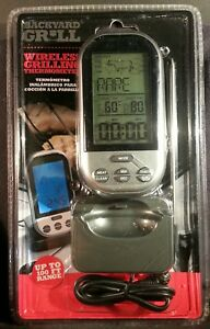 Backyard Grill WIRELESS GRILLING THERMOMETER 100 FT. RANGE ...