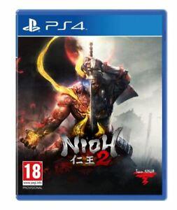 NIOH 2 sur Playstation 4 PS4 : NEUF sous BLISTER et en version française