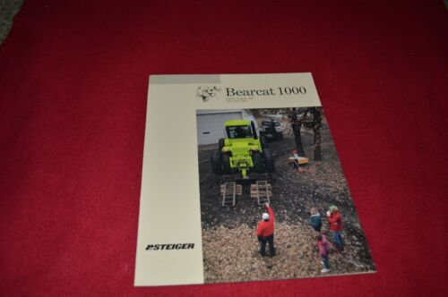 Steiger Tractor Bearcat 1000 Tractor Dealers Brochure GBMD2