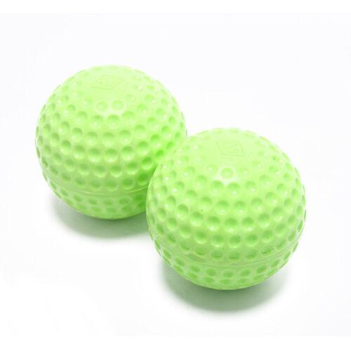 1x 9 baseballs pu inner soft baseball balls softball training exercise baseXBUK