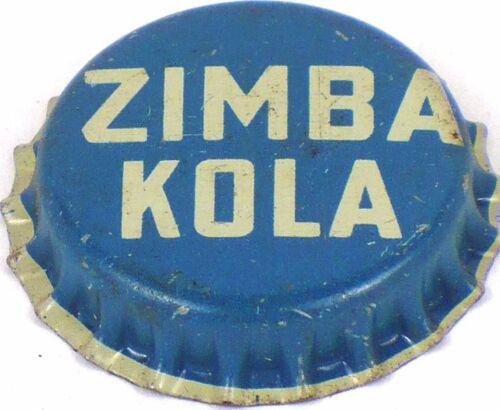 Unused 1950 ZIMBA KOLA New York soda Cork Crown Bottle Cap