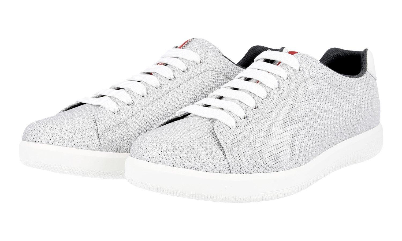 shoes PRADA LUXUEUX 4E2988 silver NOUVEAUX 9,5 43,5 44