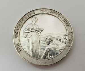 THE-SMALLHOLDER-CHAMPIONSHIP-STERLING-SILVER-MEDAL-1937
