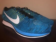60d0c0da305e DS Nike Flyknit Racer Blue Glow White-Black 526628-402  150 U.S. Men s