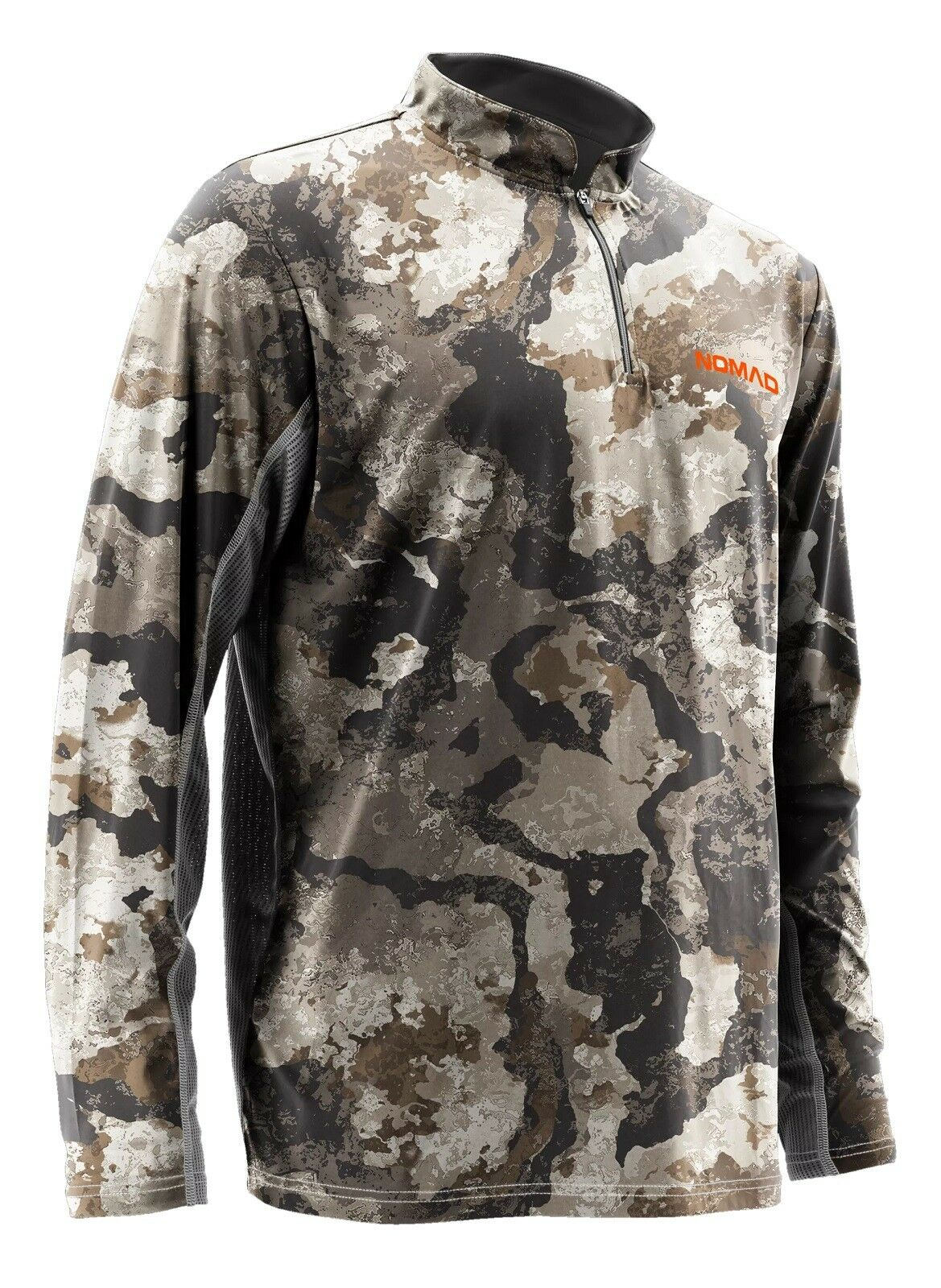 Nomad  Men's Performance Cooling Long Sleeve 1 4 Zip Camo Hunting Shirt N1200005  factory direct and quick delivery