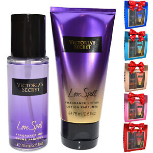 Victoria-039-s-Secret-Fantasies-Gift-Set-2-Piece-Fragrance-Mist-Lotion-2-5-Oz-Vs-New