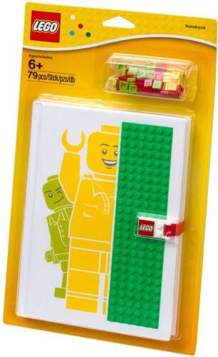 LEGO® 850686 Notizbuch mit Nopppen NEU OVP/_ Notebook with Studs NEW MISB NRFB
