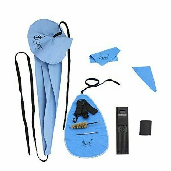 Andoer Saxophone Cleaning Care Kit Belt Thumb Rest Cushion Reed Case 4334279772