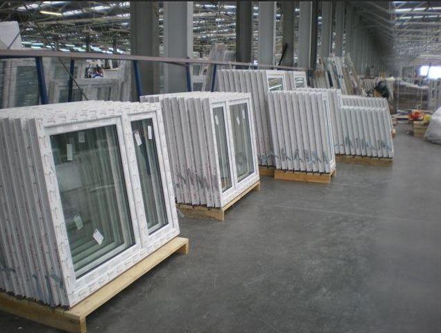 Kunststoff Fenster DREH RECHTS Breite  080-110 AFG AV7000 5-Kammer Weiß 2-fach