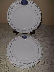 4 ROSCHER Fine Bone China Real European Gold Dinner Plates   eBay