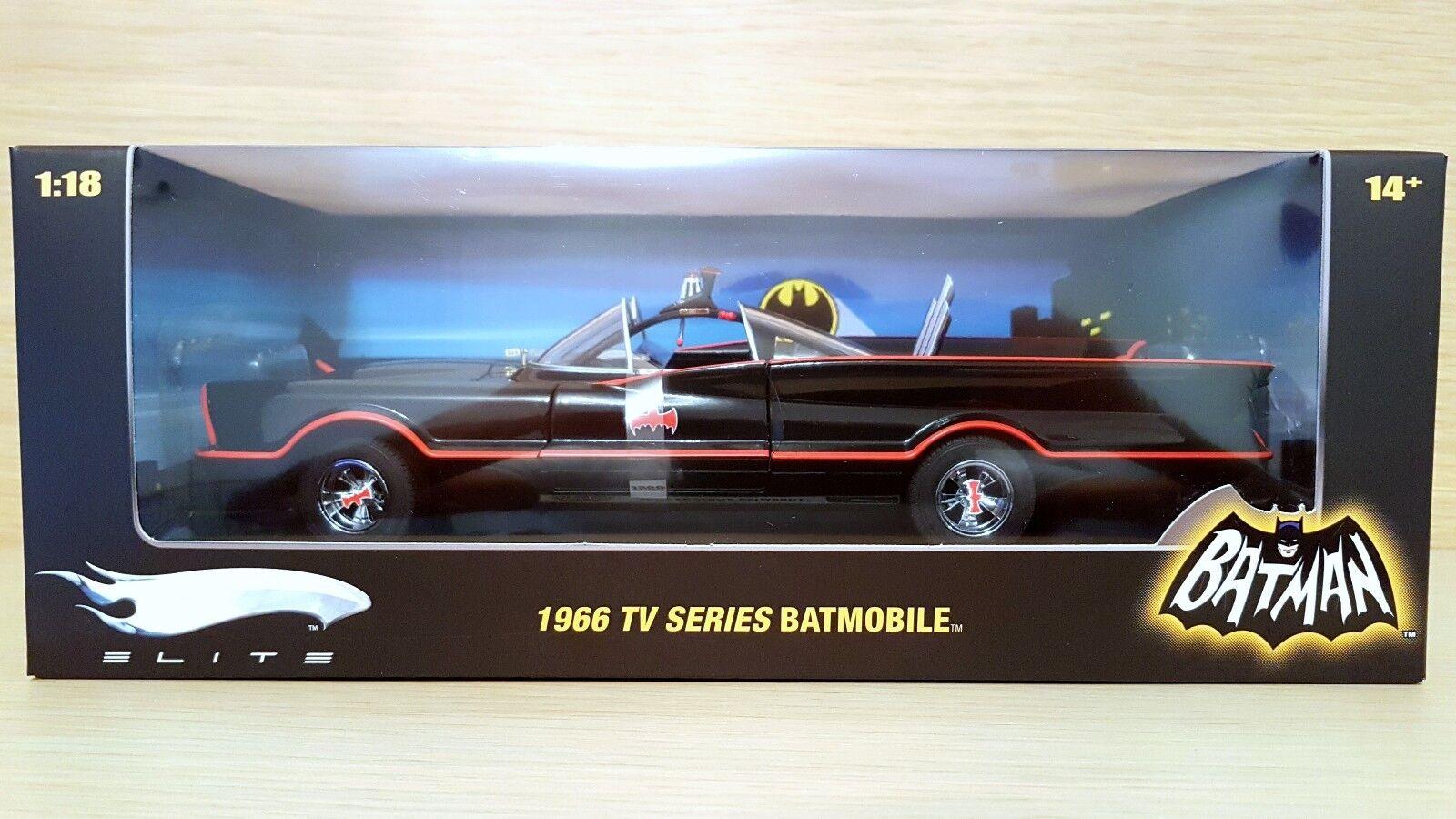 Batman 1966 Tv Series Batmobile 1st series scala 1 18 Hot Wheels Elite L7130