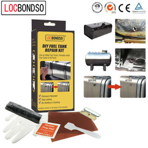 LOCBONDSO Fuel Tank & Radiator Repair Putty Kit for Plastic and Metal Tanks HQ
