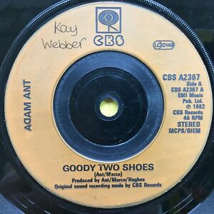 Adam-Ant-Goody-Two-Shoes-Red-Scab-CBS-A2367-Ex-Condition