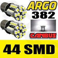 2X T20 1156 BA15S 382 P21W 44 SMD CAR TAIL BRAKE SIGNAL LIGHT LAMP BULB