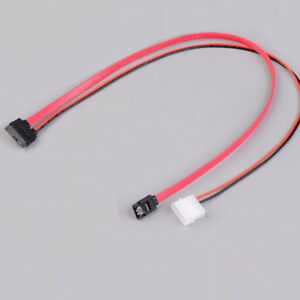Sensational 7 6Pin Slimline Sata Cable For Slim Latop Sata Dvd Rw Drive Power Wiring Cloud Hisonuggs Outletorg