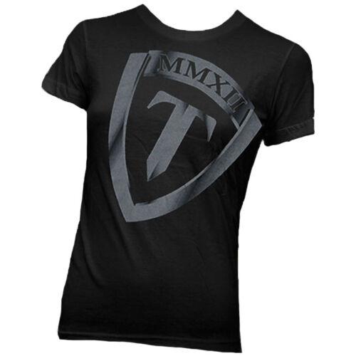 Torque Women/'s FM Vintage Shield T-Shirt