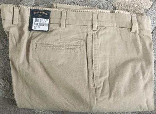 Bills Khakis M2-VTKH Plain KHAKI Vintage Twill Size 42 $165 NWT