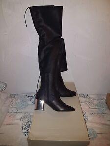 Ladies Black Kurt Geiger Size 6 Thigh