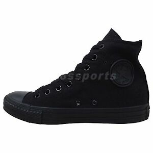 Converse Chuck Taylor All Star Hi Blackout 2014 New Classic Casual Shoes M3310C