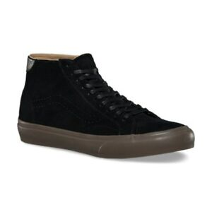 6e47df887c1de4 Vans Court Mid DX Tanner Black Dark Gum Men s Classic Skate Shoes ...