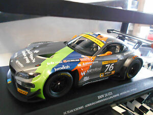 BMW Z4 GT3 E89 24h Dubai 2014 Schubert Werner Hürtgen Auberlen Minichamps 1:18