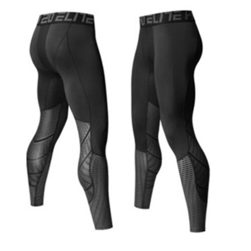 Activewear Bottoms Mens Gym Compression Trousers Tight Base Layer Sport Leggings Running Long Pants Binaservice Co Id