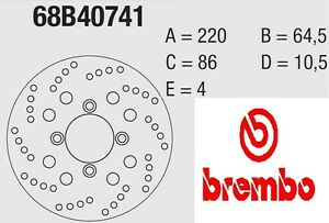 Disque-Frein-Brembo-Serie-Or-68B40741
