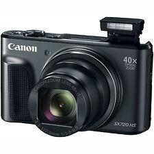 Canon PowerShot SX720 HS 20.3MP 40x Optical Zoom HD CMOS Digital Camera - Black