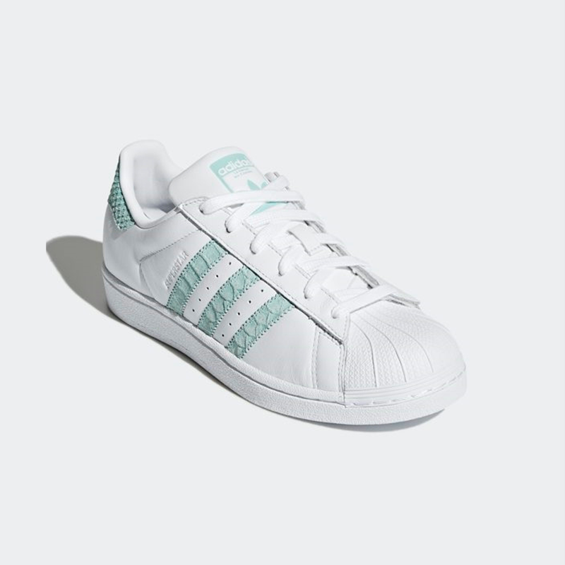 New Adidas Original donna SUPERSTAR CG5461 bianca   AQUA US W 5.5 - 8.0 TAKSE