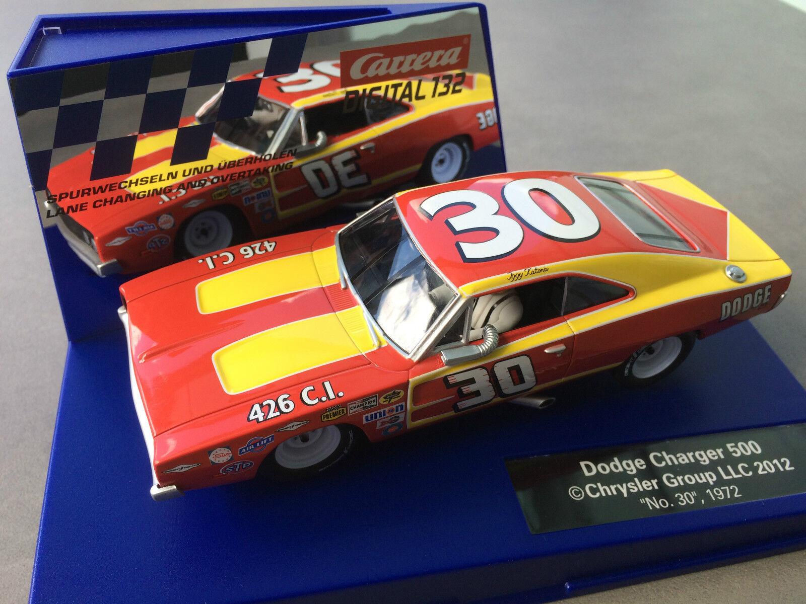 è scontato autorera Digital 132 30604 Dodge Charger 500     Nr. 30  , 1972  vendendo bene in tutto il mondo
