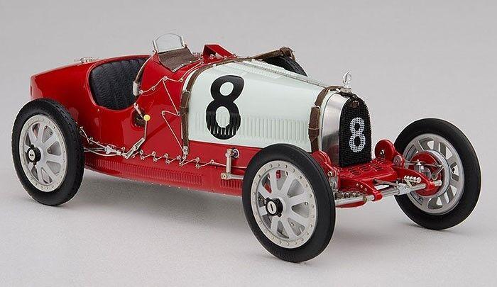 CMC 1:18 Nation Color Color Color Project Bugatti T35 Switzerland rosso and bianca M100 B-012 17fcae