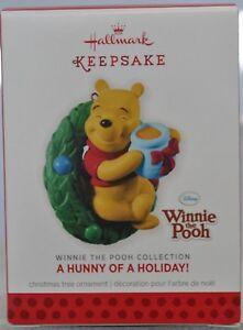 Hallmark-A-Hunny-Of-A-Holiday-Winnie-The-Pooh-Disney-Keepsake-Ornament