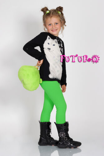 Enfants Plein De Longueur Coton Leggings Tailles 2-13 ans Equ